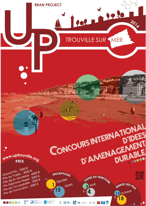 Affiche Urban Project Trouville 2014